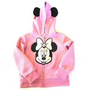 EUC Disney Pink Minnie Mouse Sweatshirt